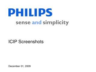 ICIP Screenshots