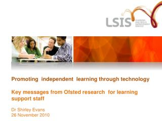 Ofsted Research
