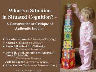 What's a Situation  in Situated Cognition?  –  A Constructionist Critique of Authentic Inquiry