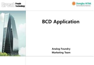 BCD Application