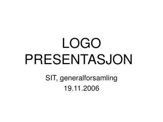 LOGO PRESENTASJON