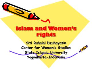 Islam and Women�s rights