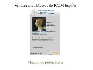 Manual de publicación