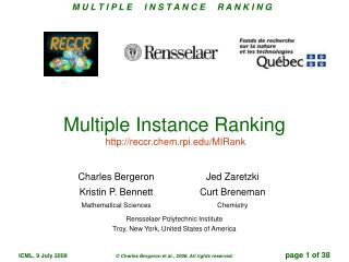 Multiple Instance Ranking