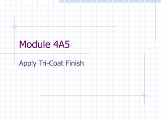 Module 4A5
