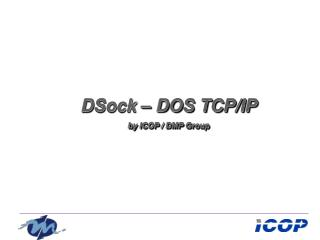 DSock – DOS TCP/IP by ICOP / DMP Group