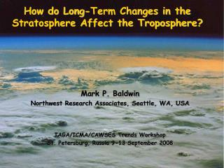 How do Long-Term Changes in the Stratosphere Affect the Troposphere?