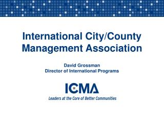 International City/County Management Association