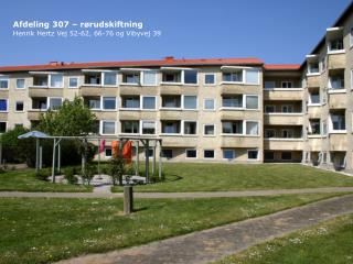 Afdeling 307 – rørudskiftning Henrik Hertz Vej 52-62, 66-76 og Vibyvej 39