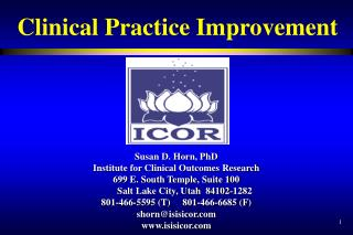 Clinical Practice Improvement