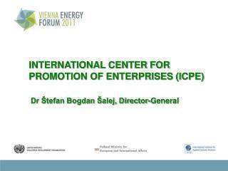 INTERNATIONAL CENTER FOR PROMOTION OF ENTERPRISES (ICPE)