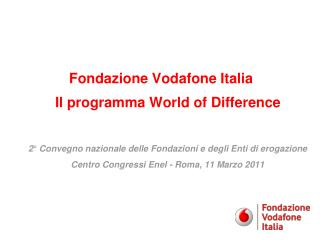 Vodafone Group Foundation 1/2