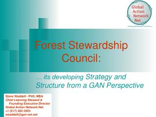 Forest Stewardship Council: