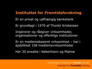 Instituttet for Fremtidsforskning