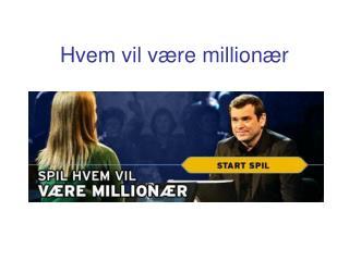 Hvem vil være millionær
