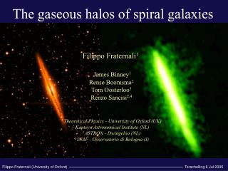 The gaseous halos of spiral galaxies