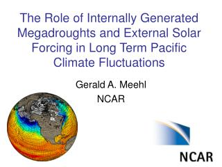 Gerald A. Meehl NCAR