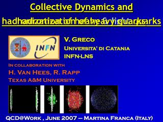 Collective Dynamics and hadronization of heavy  & light  quarks