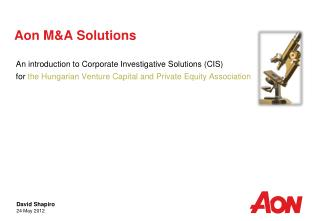 Aon M&A Solutions