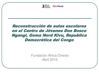 Fundación África Directo Abril 2010