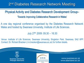 Physical Activity and Diabetes Research Development Group�