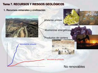 Tema 7. RECURSOS Y RIESGOS GEOLÓGICOS