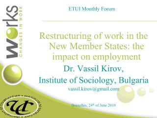 ETUI Monthly Forum