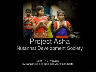 Project Asha Nutanhat Development Society