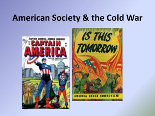 American Society & the Cold War