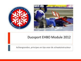 Duosport EHBO Module 2012