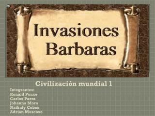 Civilización mundial 1