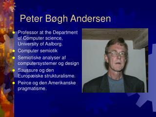 Peter Bøgh Andersen