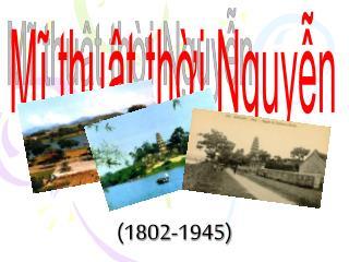 (1802-1945)