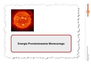 Energia Promieniowania Słonecznego