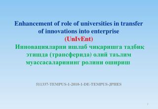511337-TEMPUS-1-2010-1-DE-TEMPUS-JPHES