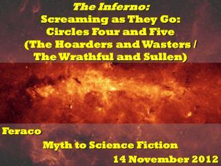 Feraco Myth to Science Fiction 14 November 2012