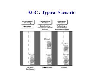 ACC : Typical Scenario