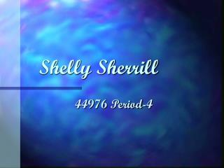 Shelly Sherrill