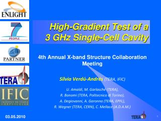 High-Gradient Test of a  3 GHz Single-Cell Cavity