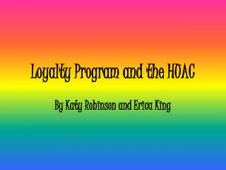Loyalty Program and the HUAC