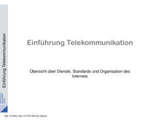 Einführung Telekommunikation