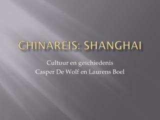 Chinareis :  Shanghai