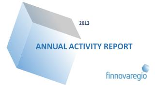 2013 ANNUAL ACTIVITY REPORT