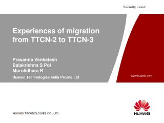Experiences of migration from TTCN-2 to TTCN-3