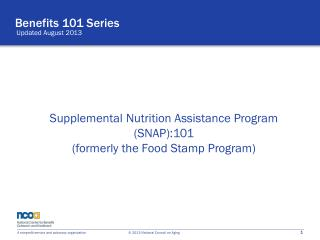 Benefits 101 Series