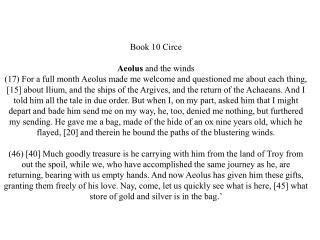 Book 11 The Dead eschat/ology  kata/basis nekuia Cimmerians (Men of Winter 14)