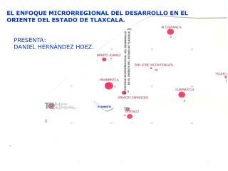 EL ENFOQUE MICRORREGIONAL DEL DESARROLLO EN EL ORIENTE DEL ESTADO DE TLAXCALA.
