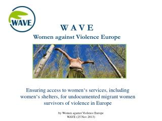 W A V E  Women against Violence Europe