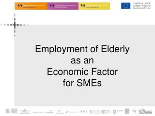 Employment of Elderly  as an  Economic Factor for SMEs