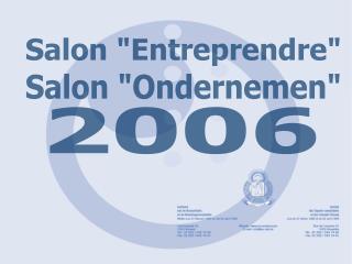 "Salon ""Entreprendre"""